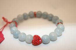 Bransoletka MoMo Design Idealny Prezent Walentynki Jadeit