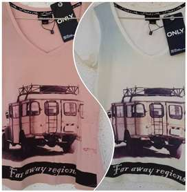 Fashion Ladies – Only -Tops/T-Shirts