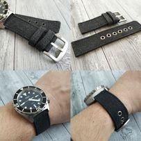 Ремешок для часов, Canvas strap, канвас, Seiko, Casio, Orient, Амфибия