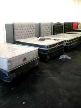 Brand New beds and headboard with factory prices