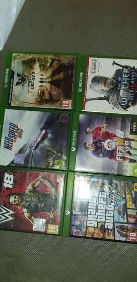 X Box One S Games