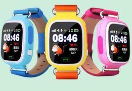 Детские Умные часы GPS Smart Watch Q100 с прослушкой и GPS трекером!