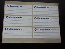 Naklejki Commodore Atari Dyskietki 5.25 Unikat