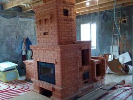 строительство камины,печи, каминопечи ,барбекю,дымоходы.