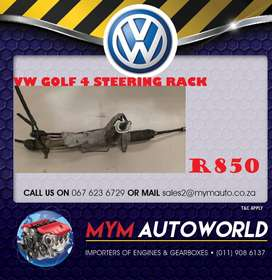 Imported used GOLF 4 STEERING RACK Engines for sale at MYM AUTOWORLD
