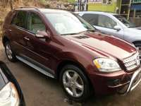 Foreign used 2007 Mercedes Benz Ml350 4matic. Direct tokunbo 0
