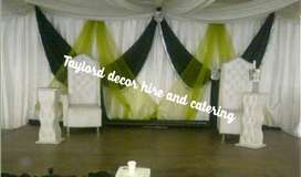 Taylord decor hire and catering