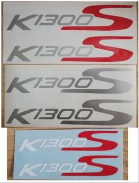 K1300S decals stickers vinyl cut graphics sets