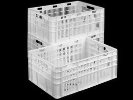 Пищевые пластиковые ящики 600х400
