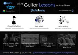 Online Guitar Lessons with GuitaRealm