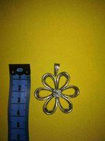 Srebrny Wisiorek kwiat 925