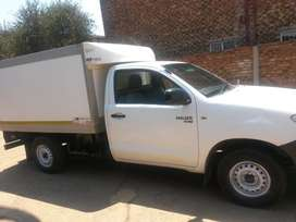 Toyota Hilux D4D 2008, Insulated body.