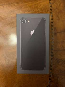 iPhone 8, for sale. Space Black. 64GB. (Price will be negotiable)