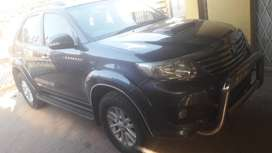 Toyota fortuner 2012 model in good condition.