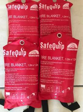 Safequip fire blanket