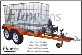 NEW 1000Lt - 2500Lt Water Bowser / Fire Fighter Trailers with Papers