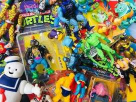 Cash paid for old toys and misc.