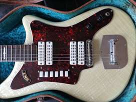 Electric guitar Eko 500, 60's model version 4