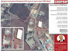 REDUCED TO GO!!! Industrial site Koster