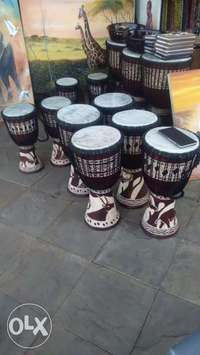 Professional African authentic djembe drums 4 sale 0