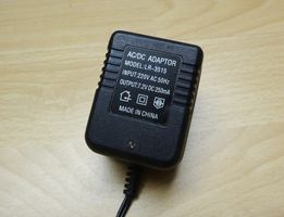 Блок питания 7,2 V на 250 mA AC-DC адаптер LR-3515