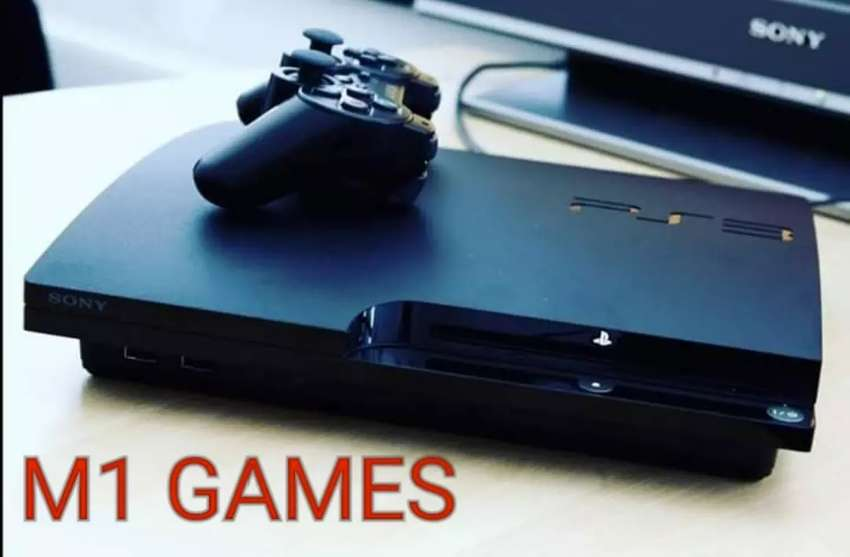 Ps3 slim chipped 0