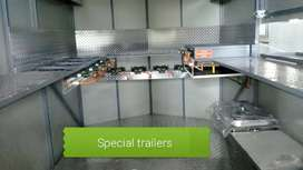 We manufacture n design trailers at affordable