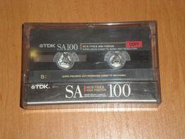 """Программы , игры на магнитофонной кассете TDK SA100 для ПК """"Поиск - 1"""""""