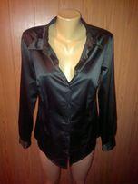 Рубашка (блуза) чёрная TV-коллекция р.46-48 ТОЛЬКО ДОНЕЦК