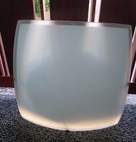 kinkiet ścienny firmy Massive kwadratowe szkło