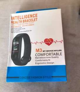 M3 Smart Watch HEARTBEAT, BP detector Waterproof