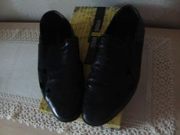 Туфли черные кожаные ANTONIO BIAGGI