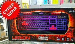 Клавиатура Игровая Perfeo (PF-9220-GM) «LEGION» , с подсветкой