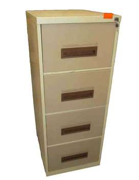4 Drawer steel cabinet