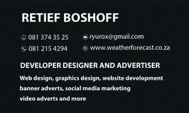 Freelance web designer graphics designer and more