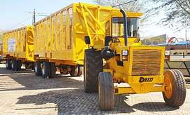 Hauler Rig - Twin Trailers & tractor - DEZZI Used