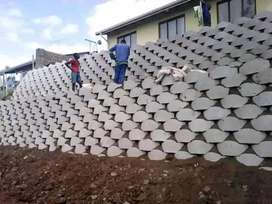 Tarring, Retaining walls and PRECAST Concrete fence
