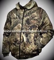 Бушлат куртка зимняя охота рыбалка камуфляж