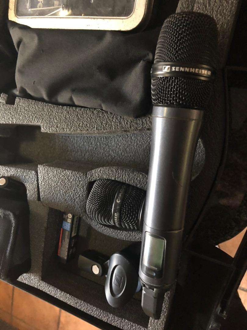 Sennheiser SKM 100-835 G3 mic and receiver in excellent condition 0