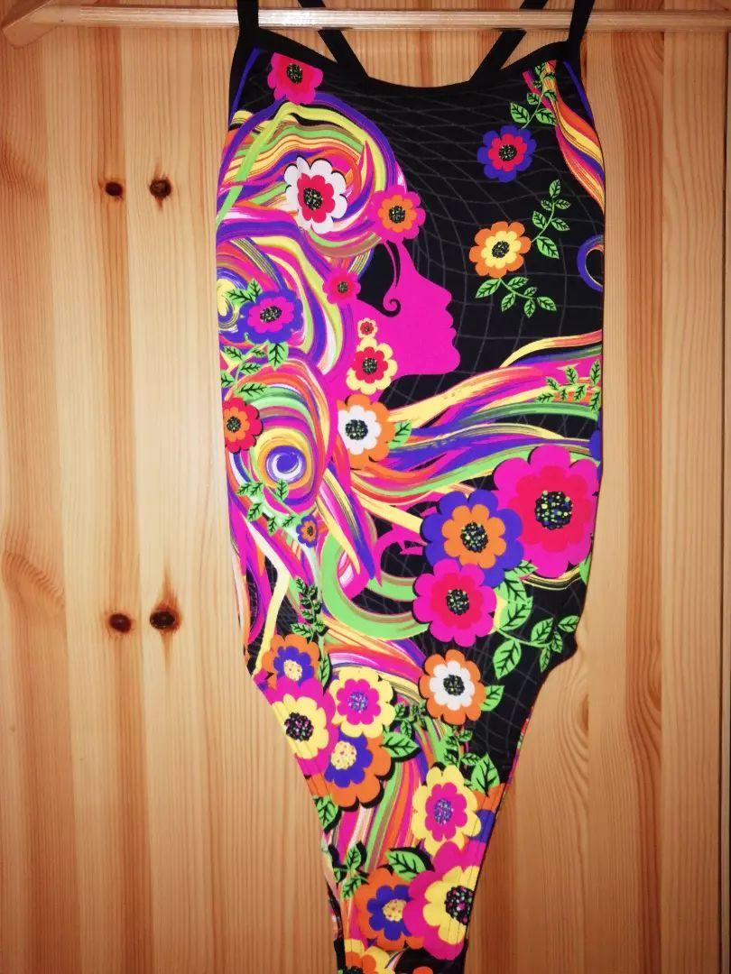 Plavky Funkita, květinový vzor. Tréninkové závodní 0