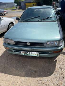 TOYOTA TAZZ 1.3 (1998)-FOR SALE AS IS OR FOR SPARES