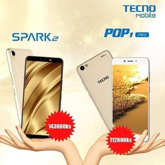 Beauitiful tecno spark 2 quality smartphone 0