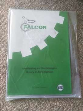 Falcon, Rotary cutters equipment, book