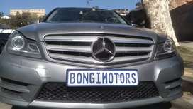 MERCEDES C200 CGI AUTOMATIC WITH SERVICE BOOK