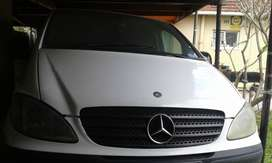 Breaking up Mercedes Vito 115cdi for spares
