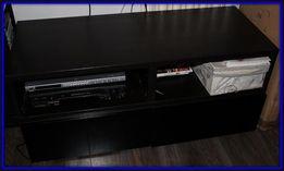 2 szuflady Ikea Besta lub czarna lakierowana szafka 2 półki+2 szuflady