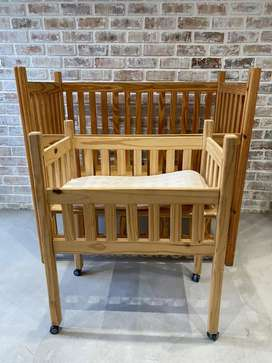 Cot, Co-Sleeper and Toddler Bed
