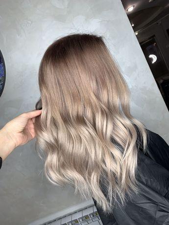 Ищу МОделей на Окрашивание и лечение волос цена материалов