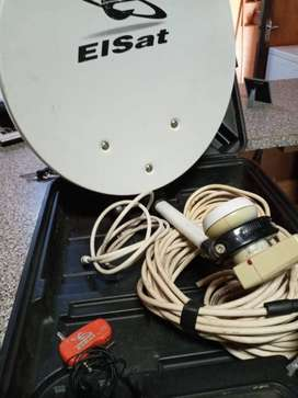 Portable Camping Satelite Dish undefined#x2F; SatFinder