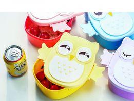 Детский ланч бокс Bento Совушка Сова Посуда контейнер для обедов